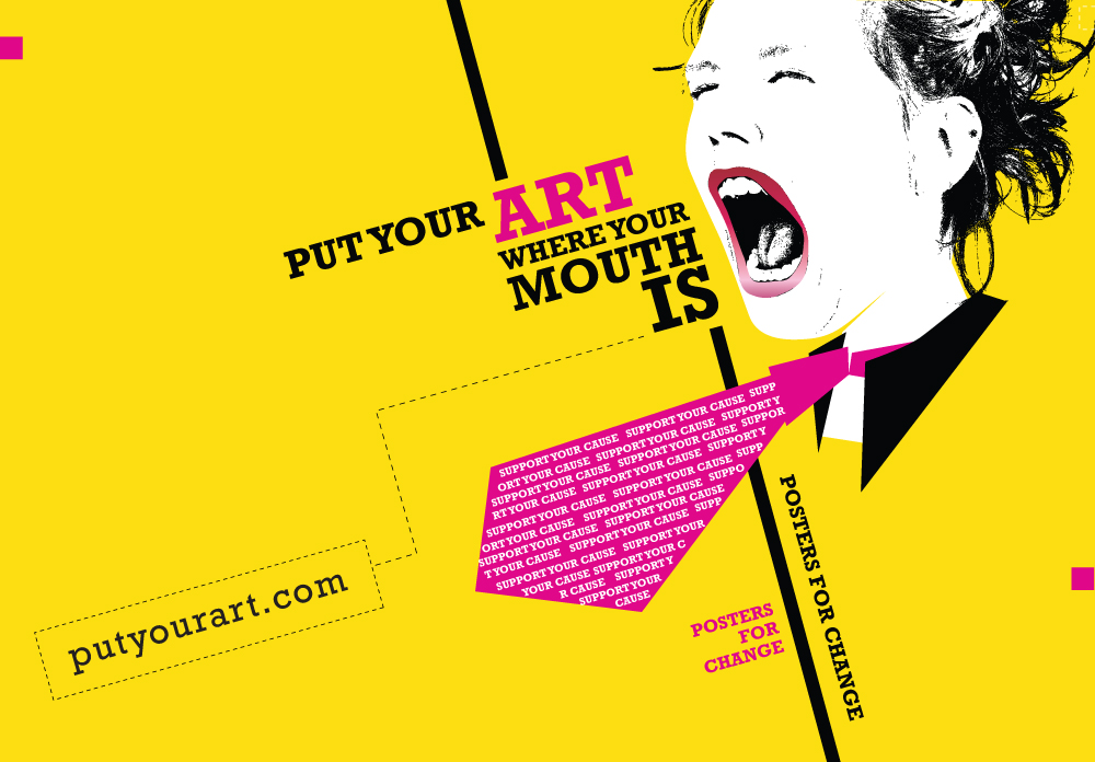 Put Your Art Where Your Mouth Is by Carolyn Nowaczyk