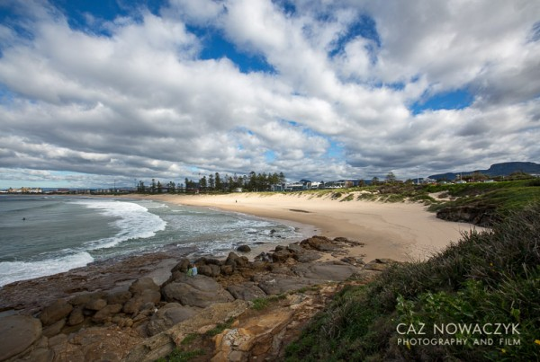 City Beach Wollongong by Caz Nowaczyk