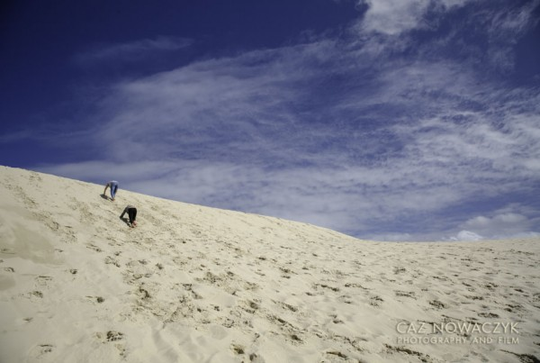 Dark Point Sand Dunes in Myall Lakes National Park.
